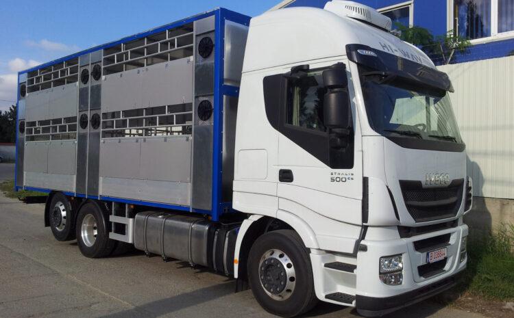 Caroserie transport ovine / bovine / porcine